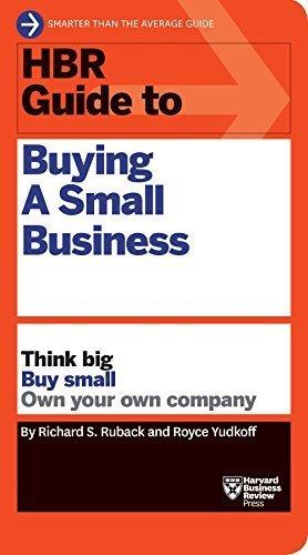 کتاب HBR Guide to Buying a Small Business (HBR Guide Series)
