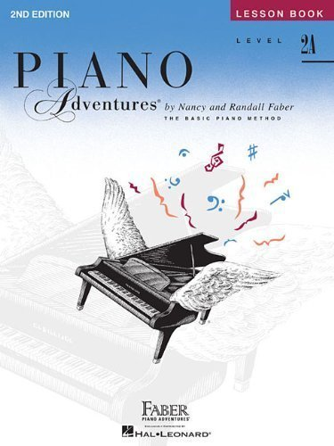 کتاب Level 2A - Lesson Book: Piano Adventures