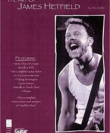 کتاب The Art of James Hetfield (The Art of Series)