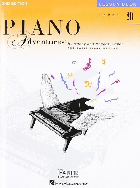 کتاب Level 2B - Lesson Book: Piano Adventures