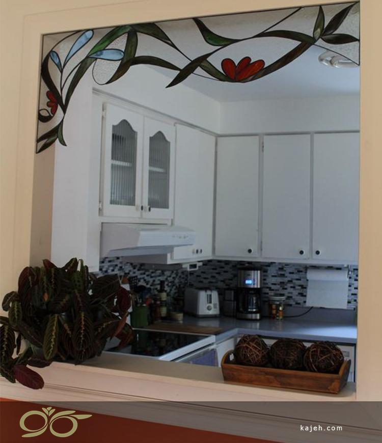 طرح های شیشه ای استیند گلس جایگزین پرده های سنتی