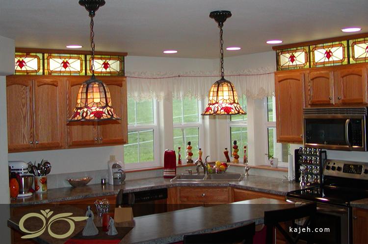 طرح های شیشه استنید گلس کابینت های آشپزخانه شما را متمایز می کند