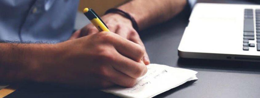 تدوین کلمات در تولید محتوا