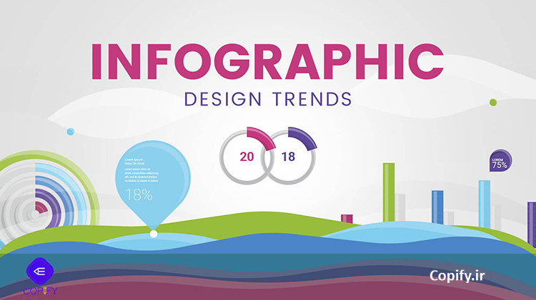 ترند طراحی اینفوگرافیک سال 2018