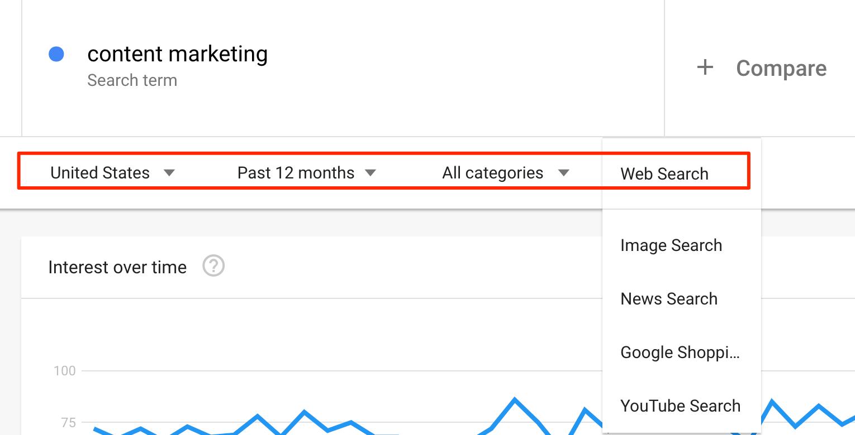 google trends یا ترندهای گوگل