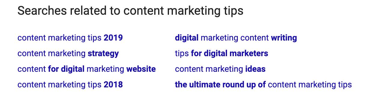 جستجوی اصطلاحات مرتبط با تولید محتوا